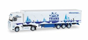 Mercedes Actros Semi N Scale Trio-Trans